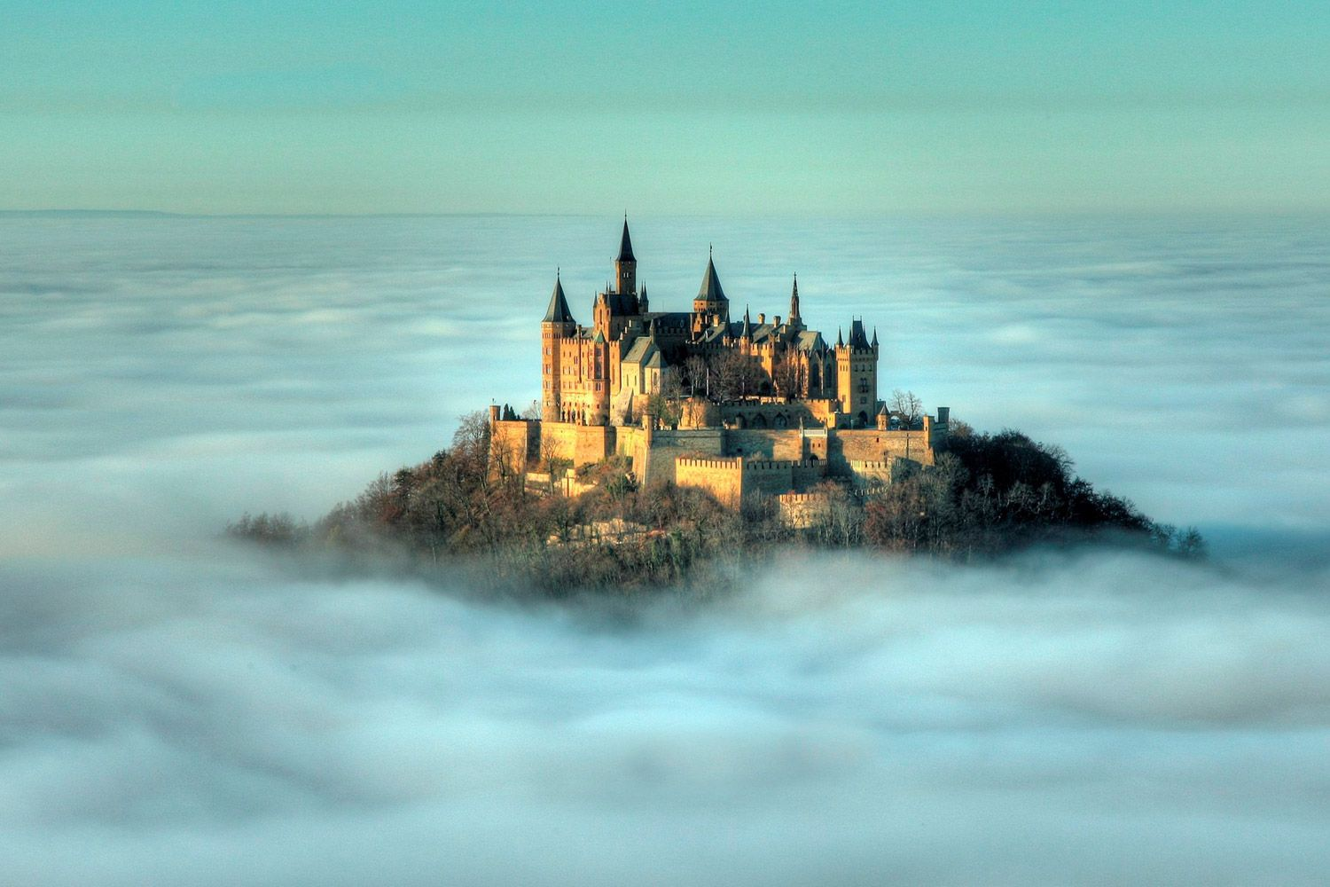 Hohenzollern Castle In The Clouds Germany Germany Castles Beautiful Castles Hohenzollern Castle