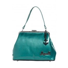Women's Betsy Anchor Purse Teal
