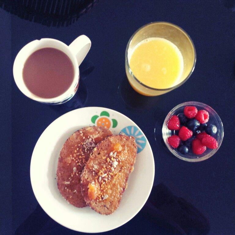 Desayunos energéticos.