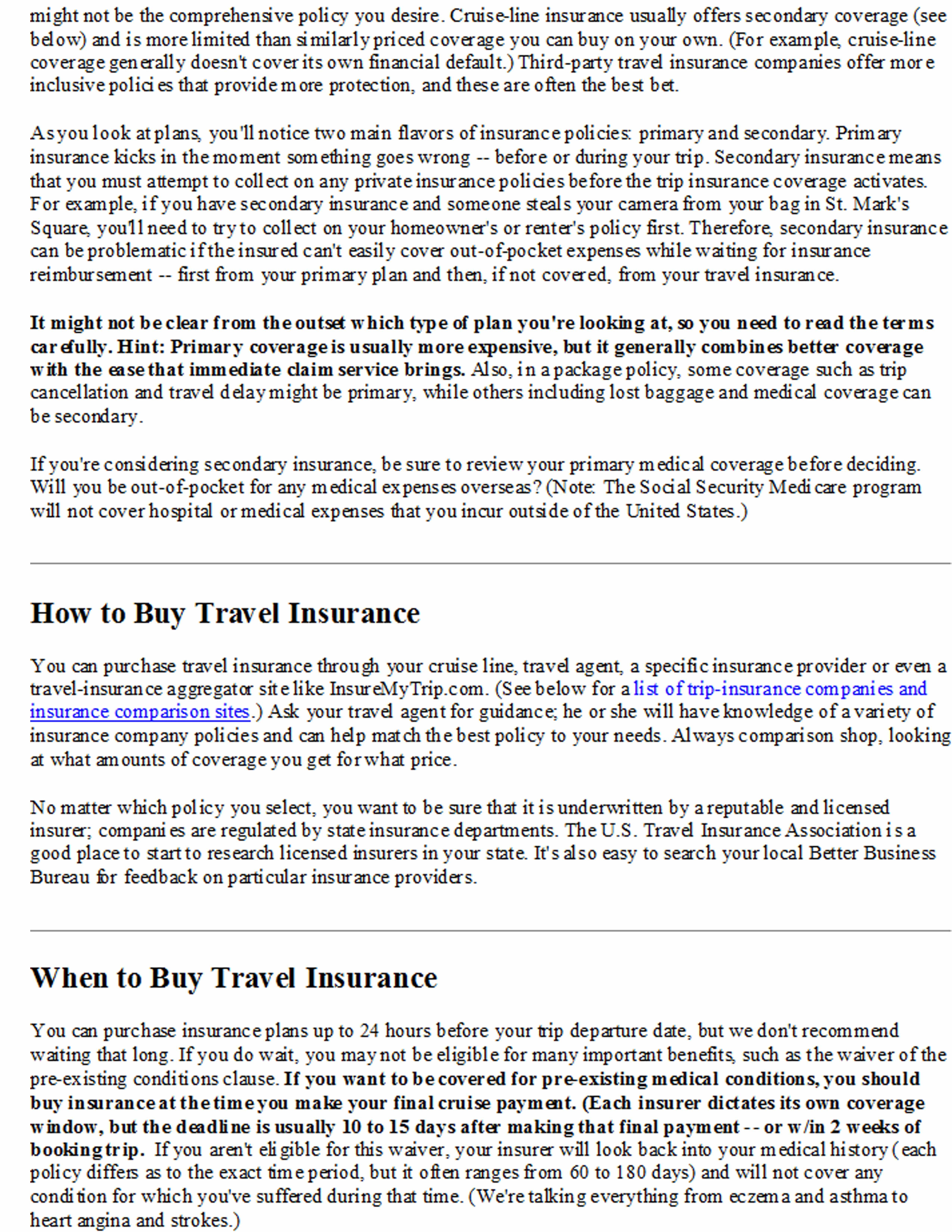 Travel Insurance 4 Of 5 Travel Insurance Companies Travel