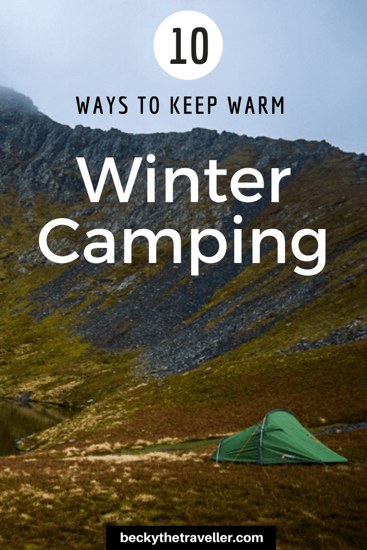 Photo of Wild camping in winter