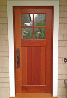 Beautiful bespoke custom handmade front door