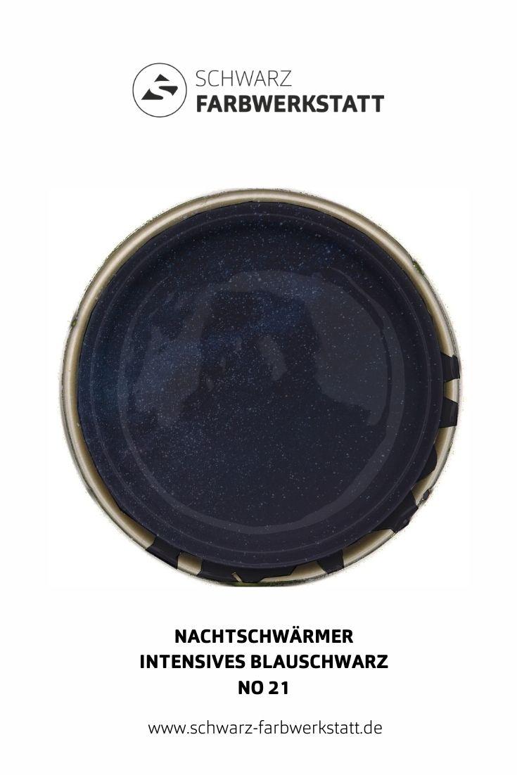 Wandfarbe Schwarzblau Lack Dunkle Farbe Wandgestaltung Wandfarbe Wandfarbe Schwarz Farben