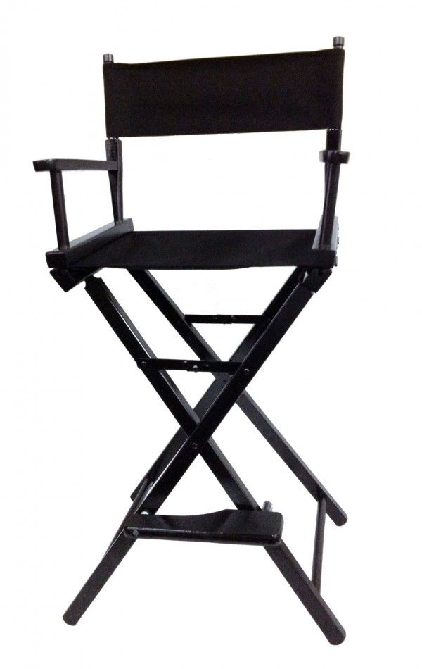 Black Director\'s Chair (high) - Director Chair - Film Accessories ...
