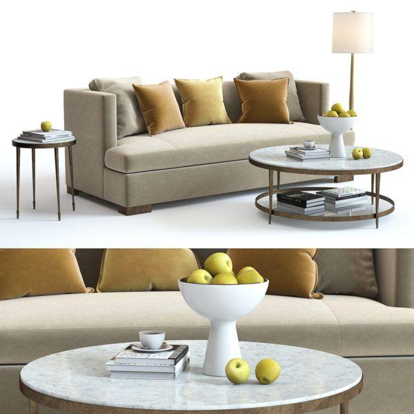 High Quality Model Baker Social Scene Sofa Ingreendecor Modeling Interiordesign Furniture Vray