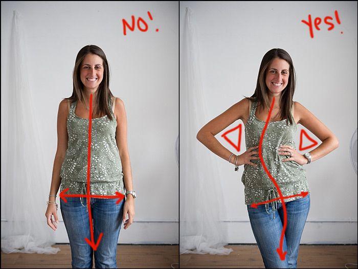 Idee Pose Fotografiche : Picture pose do and don t idee fotografiche pose