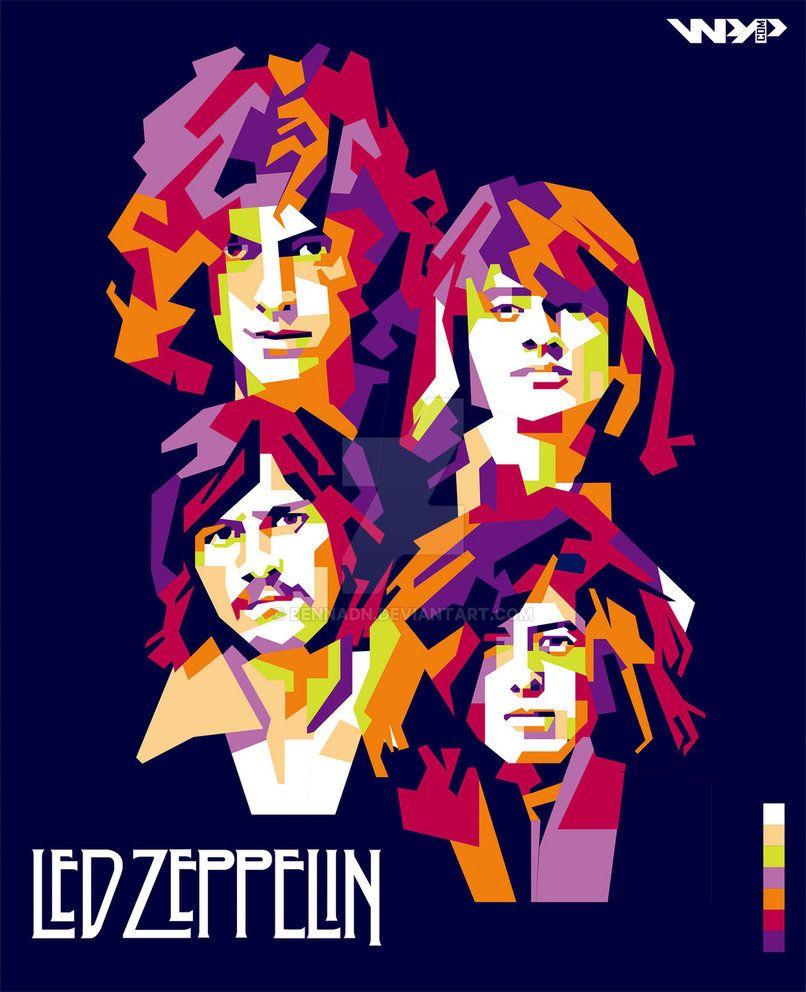 Led Zeppelin Google Search Led Zeppelin Art Led