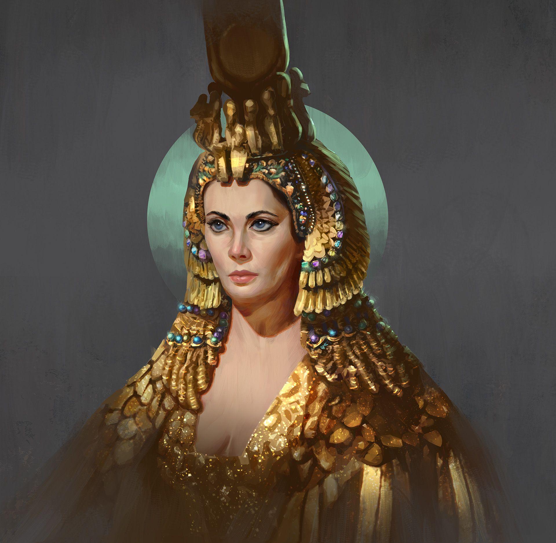 нельзя будет клеопатра фото царицы истинное лицо ним