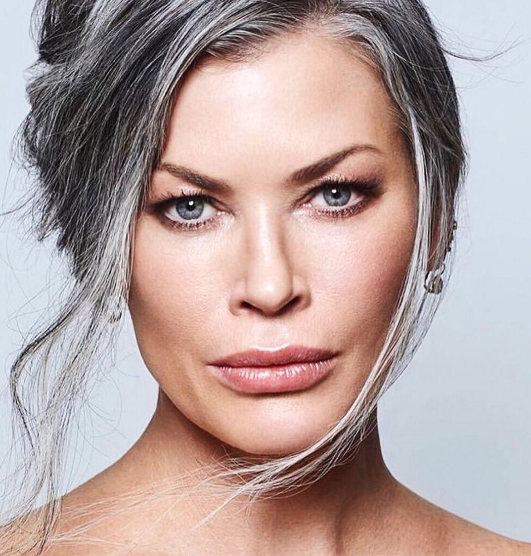 53 Ideas Look Makeup Over 50 in 2020 Grey hair
