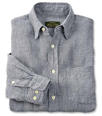 1025894ff4 PURCHASED Just found this Mens Linen Shirt - Long-sleeved Pure Linen Shirts  -- Orvis on Orvis.com!