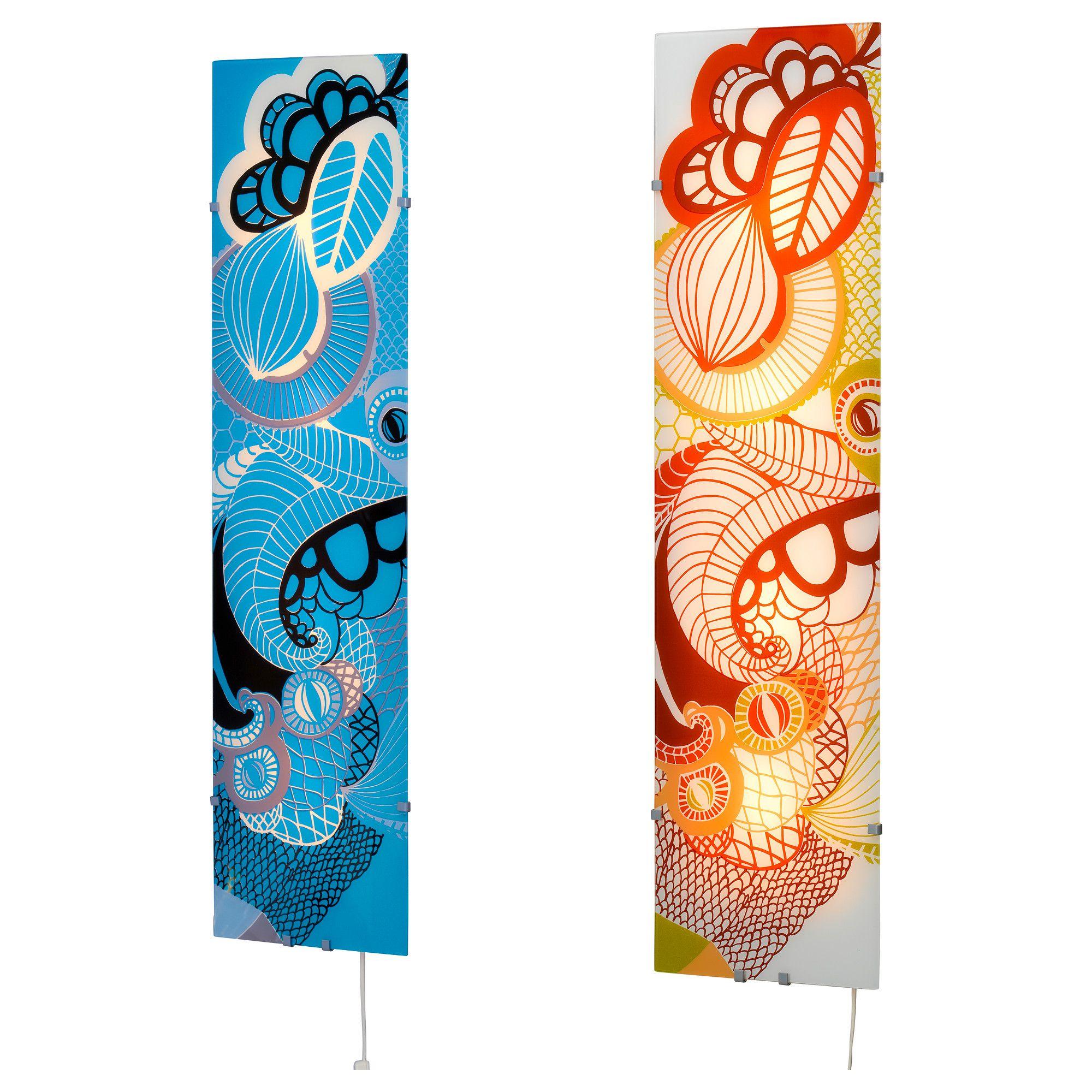Gyllen lampada da parete multicolore 95 cm ikea for Poster da parete ikea