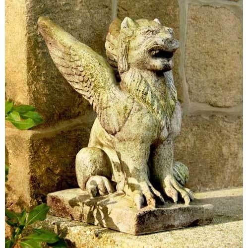 Griffin I Want 2 Of These For My Front Porch Stone Statues