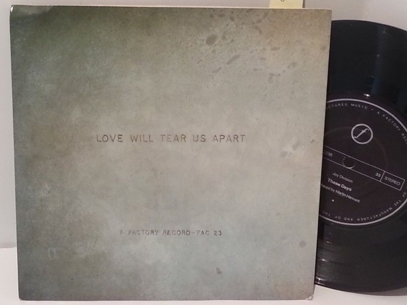 [b]SOLD[/b] JOY DIVISION love will tear us apart, 7 - SINGLES all genres, Including PICTURE DISCS, DIE-CUT, 7' 10' AND 12'. #LP Heads, #BetterOnVinyl, #Vinyl LP's