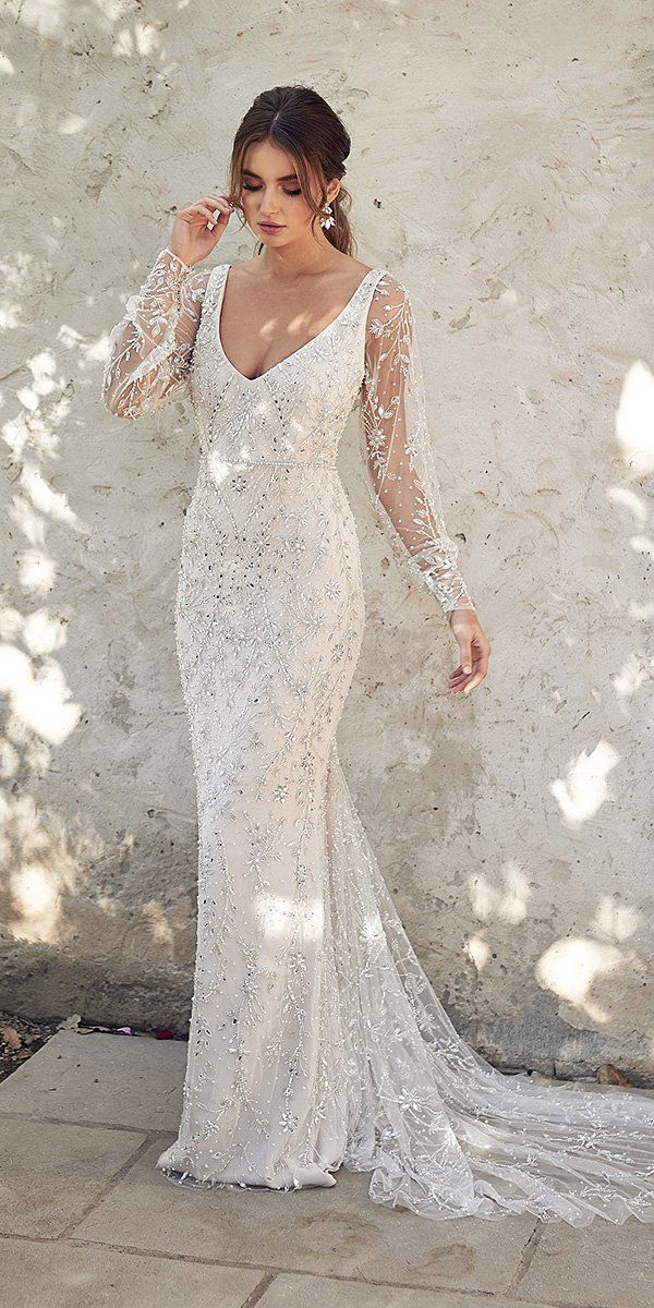 39 Vintage Inspired Wedding Dresses | Wedding Forward 16