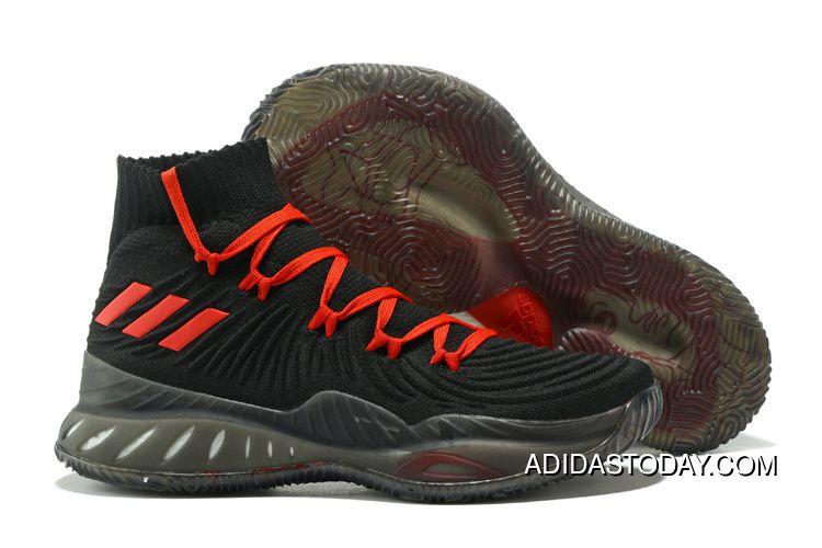 75abd811 Top Deals Adidas Crazy Explosive Primeknit Black Red Basketball Shoes