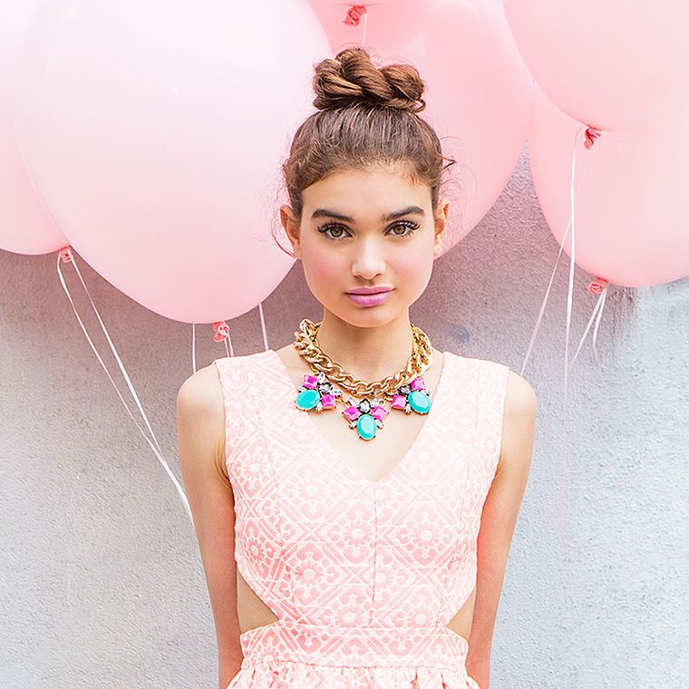 Tickle Me Pink - Make em blush with this season's most alluring hue! A'gaci fashion