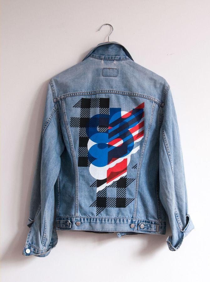 50cb2da708 PrintMakingMoneyGang Denim Jacket - MonniJungle4 color screenprinted denim  jacket inspired by Action Bronson   Notorious B.I.G.