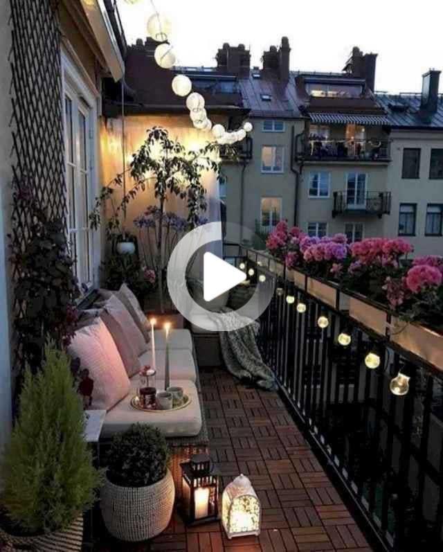 Photo of Small Apartment Balcony Decorating Ideas #Apartment #balcony #Balcony Garden #Balcony Garden