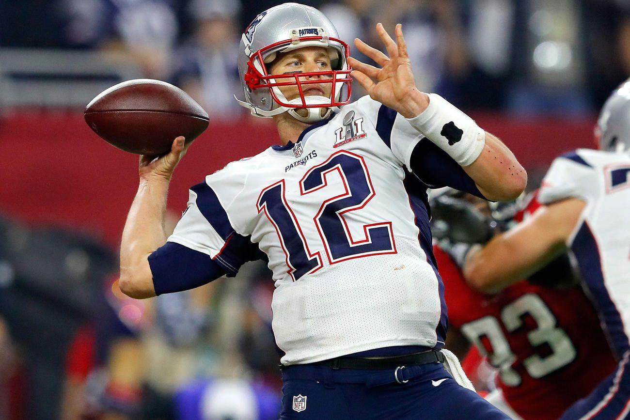 New England Patriots Win Super Bowl Li In Overtime Patriotas Patriotas De Nueva Inglaterra Deportes