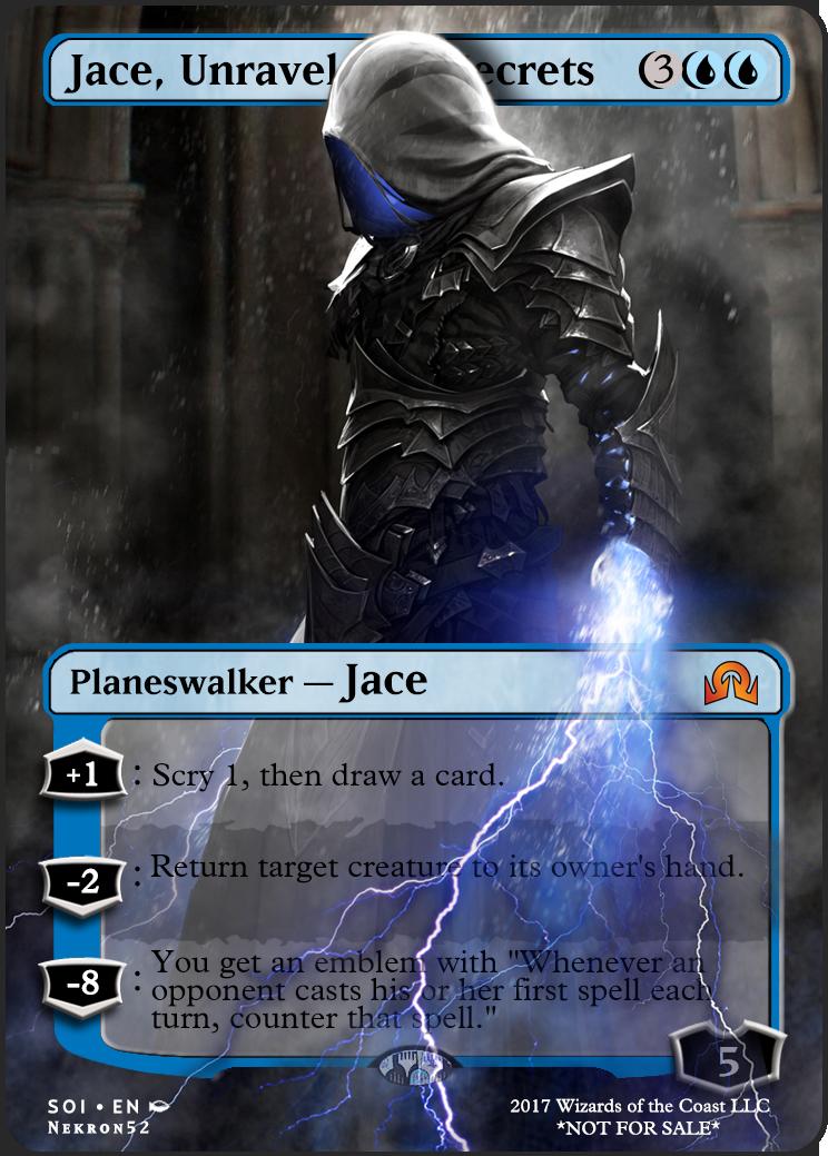 *Planeswalker Mystery Card* MTG NM