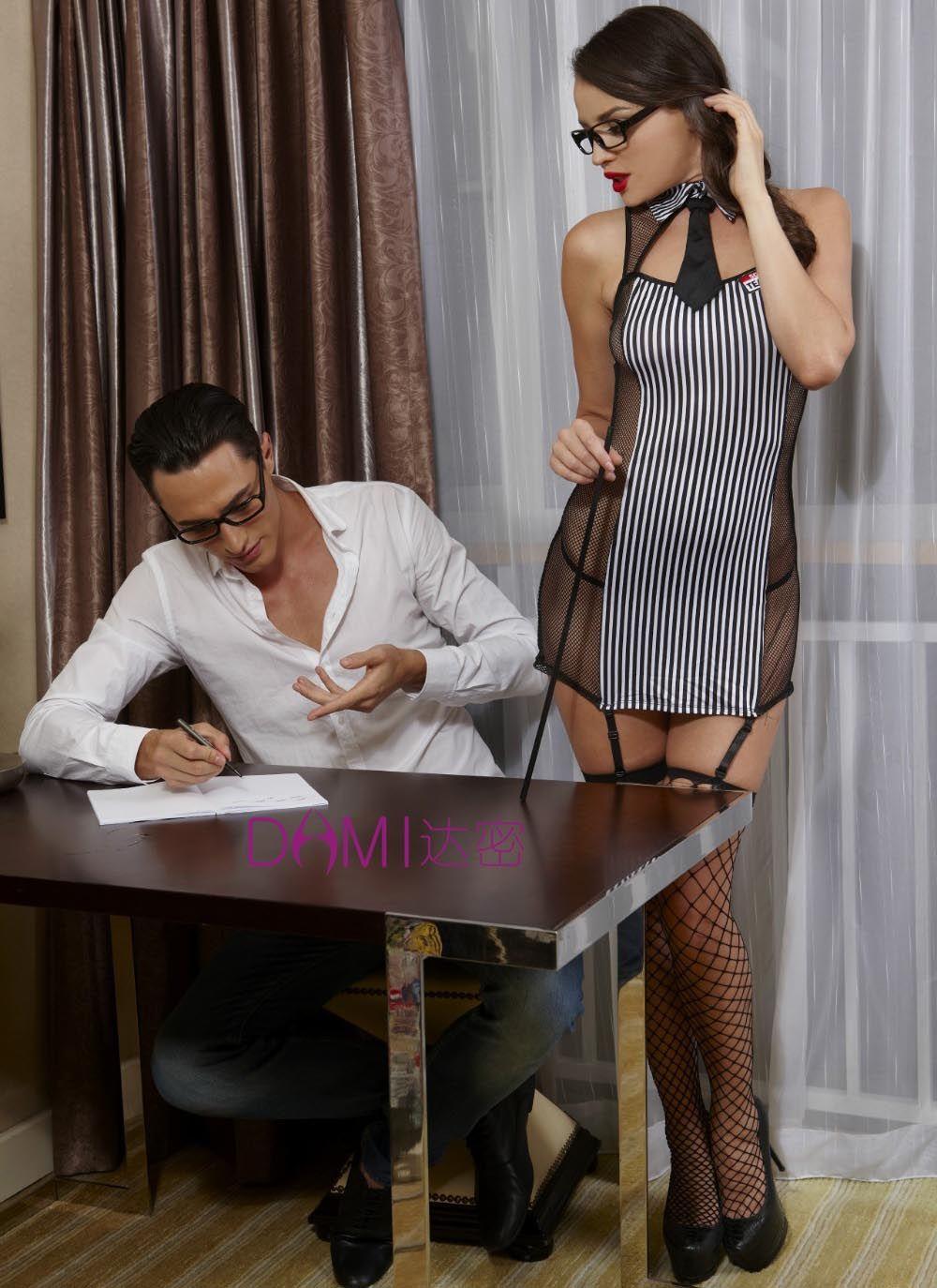 Idarmee S6230 Women Sexy Lingerie Hot Erotic Japanese High School Girl Cosplay Teacher Suits Erotic Lingerie
