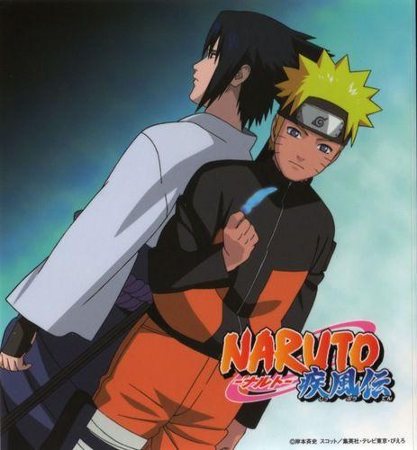 Sasuke and Naruto Photo: SASUKE & NARUTO