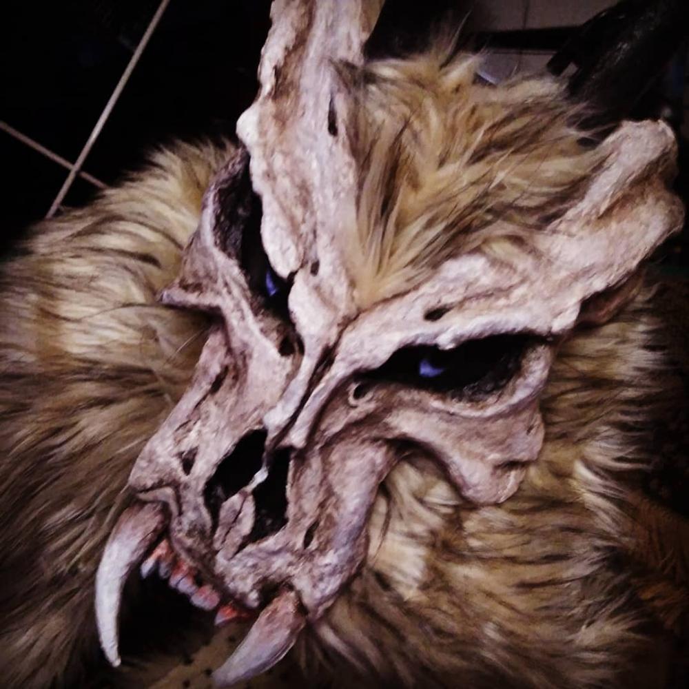 dead forest dog mask 11 фотографий Dog mask, Dead