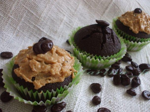 Čokoládovo-pohánkové muffiny s kávou  - obrázok 5