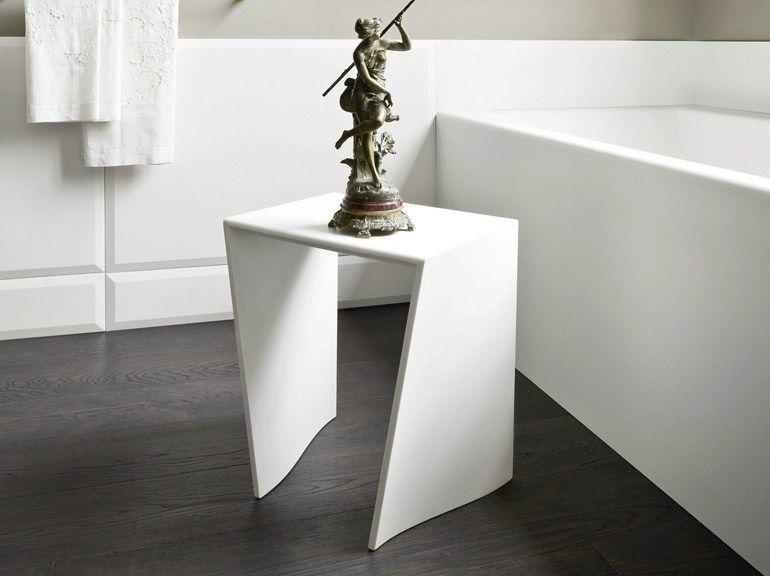 Warp bathroom stool by rexa design design carlo dal bianco bagni