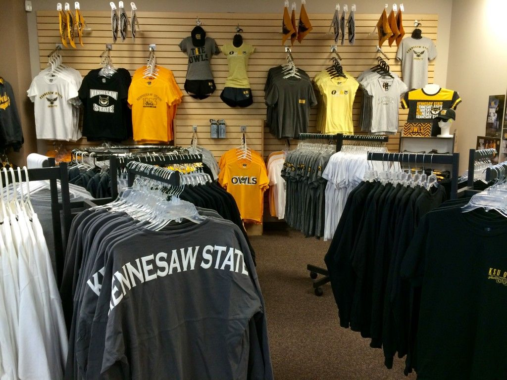 1516c5b5fc5 KSU Apparel available at The General Bookstore. Kennesaw State University