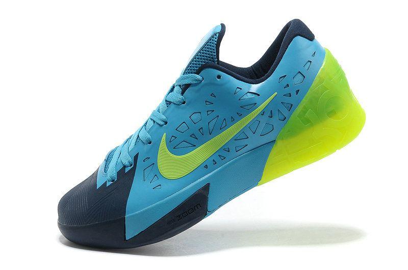 best cheap 87263 854cd Nike KD Trey 5 Hyper Blue Sky Blue Lime Green Volt Size 11