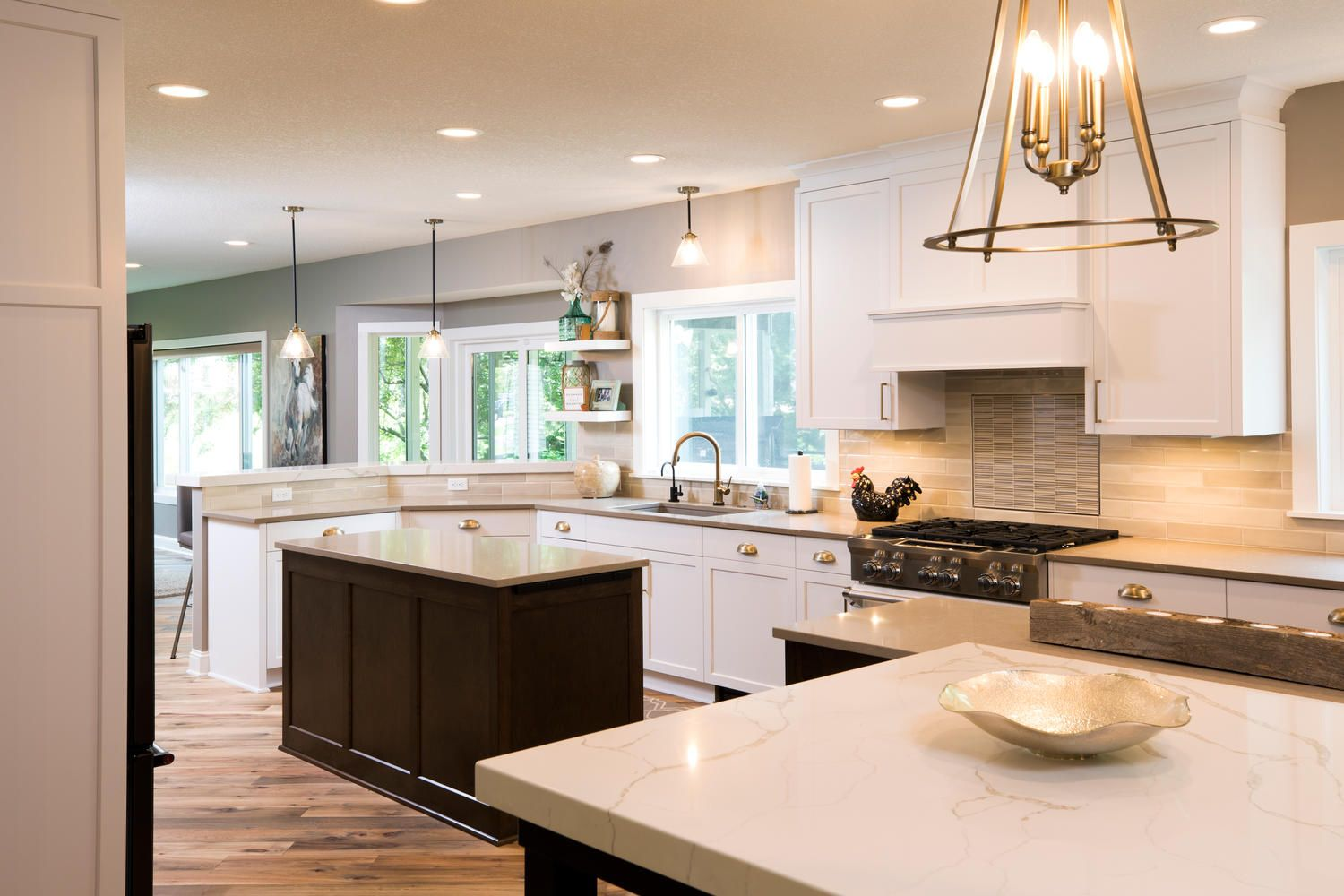 Well Done Grey Kitchen Built By Fieldstone Family Homes On Lake Minnetonka Home Grey Kitchen Home And Family