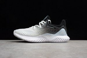 c37124b4467a Mens Adidas Alphabounce Beyond Gradual White Black CP8827 Running Shoes