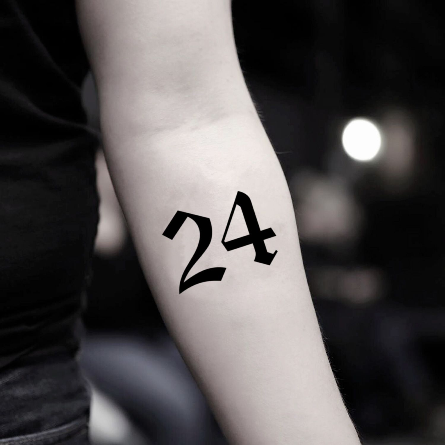 24 Henna Tattoos By Rachel Goldman You Must See: Kobe Bryant 24 Temporary Tattoo Sticker (Set Of 2)