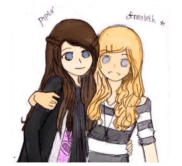 Piper and Annabeth