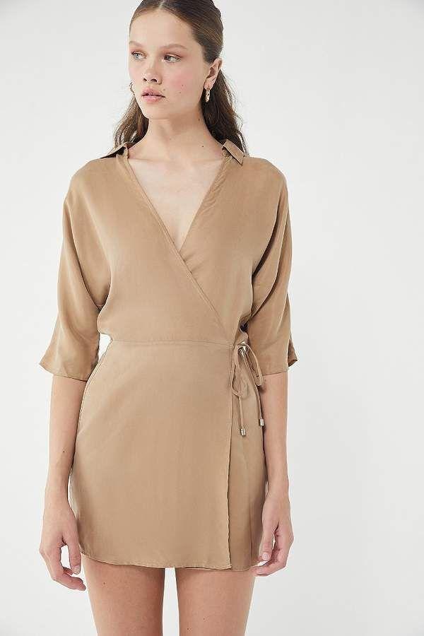 Third Form Revolution Collared Wrap Dress