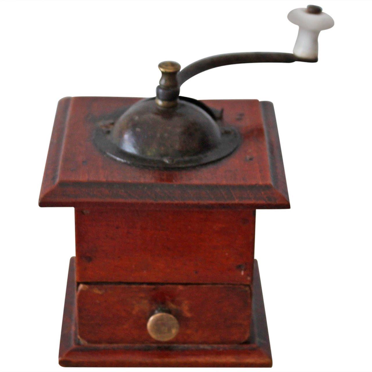 Rare Miniature 19th Century Salesman S Sample Coffee Grinder Modern Primitives Antiques Coffee Grinder