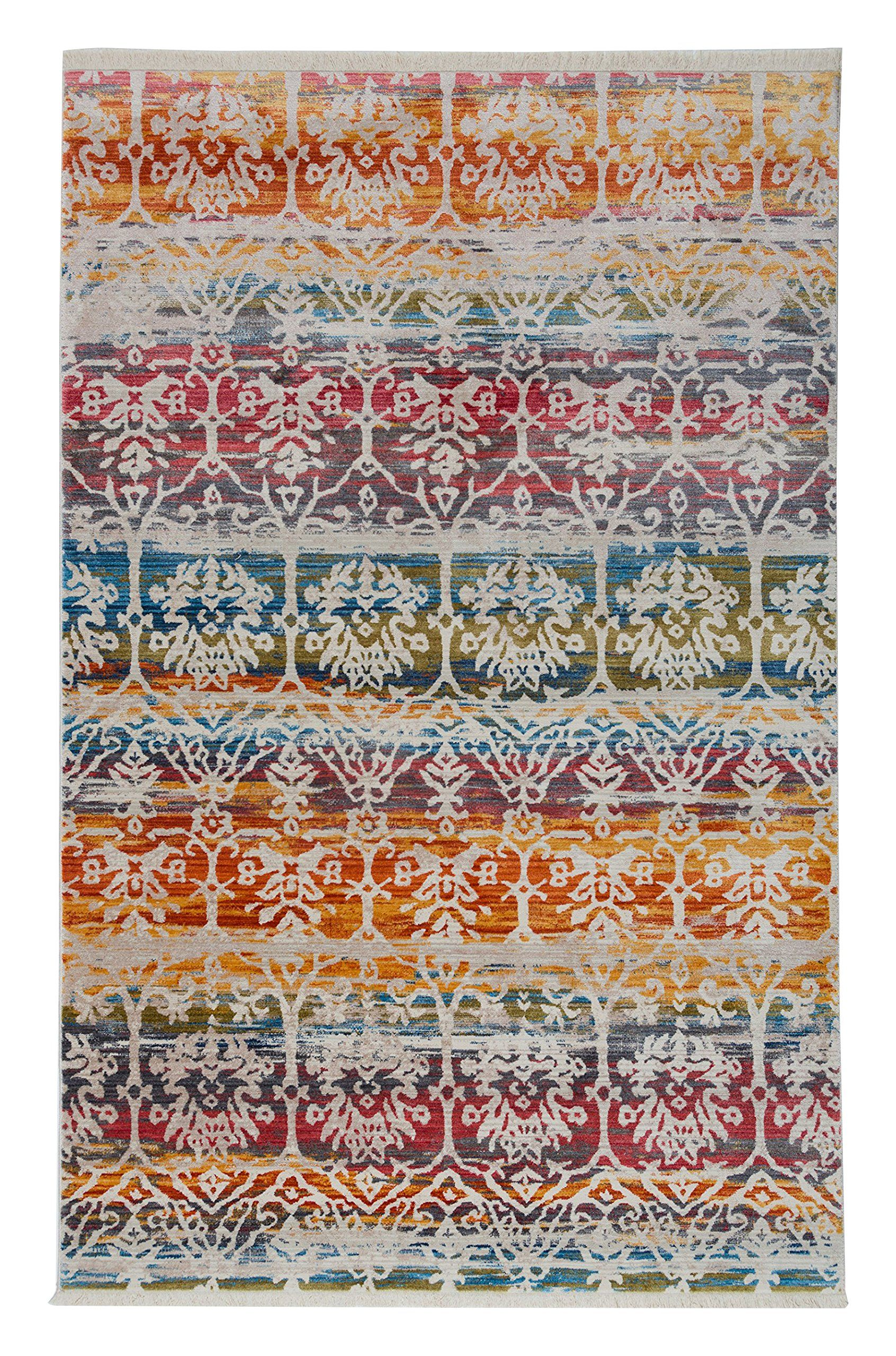 Antep Rugs Comfort Zone Collection Anatolian Art Vintage Area Rug 92 L X 60