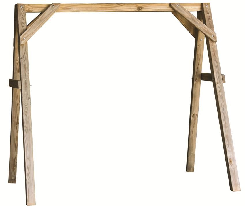 LuxCraft A-Frame Swing Stand | Swings, Outdoor ideas and Porch