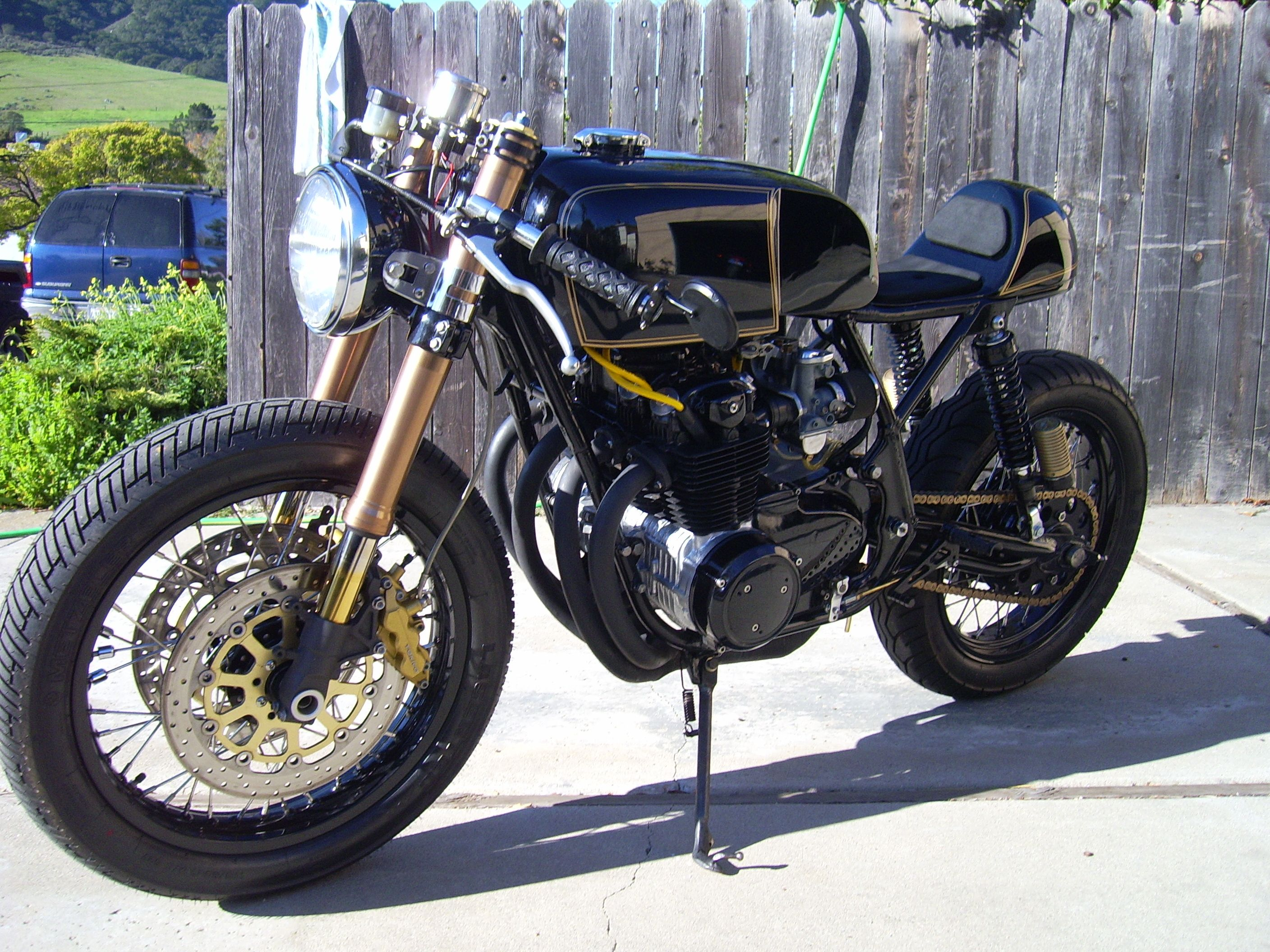 I Want Another Cafe Racer So Sweet