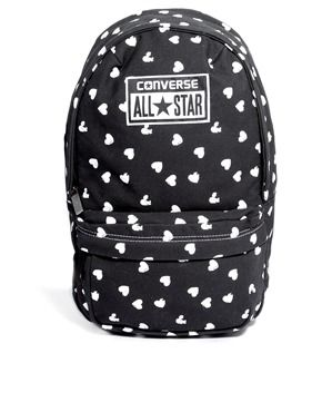 e6a985a2e27a Image 1 of Converse Mini Backpack in All Over Heart Print