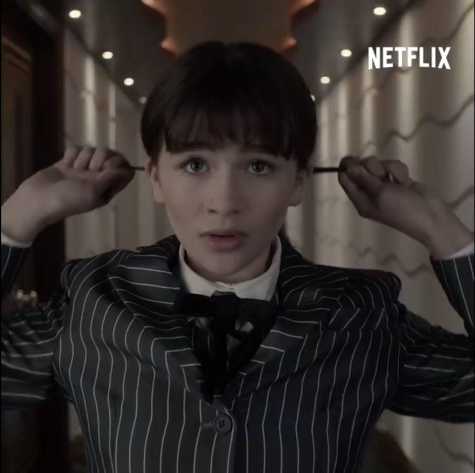 Violet In Her Pinstripe Suit In The Ersatz Elevator A Series Of
