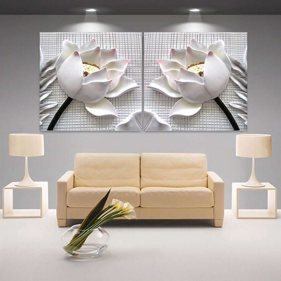 living room art prints%0A     best Nature images on Pinterest   Canvas prints  Home decor and Flower  wall