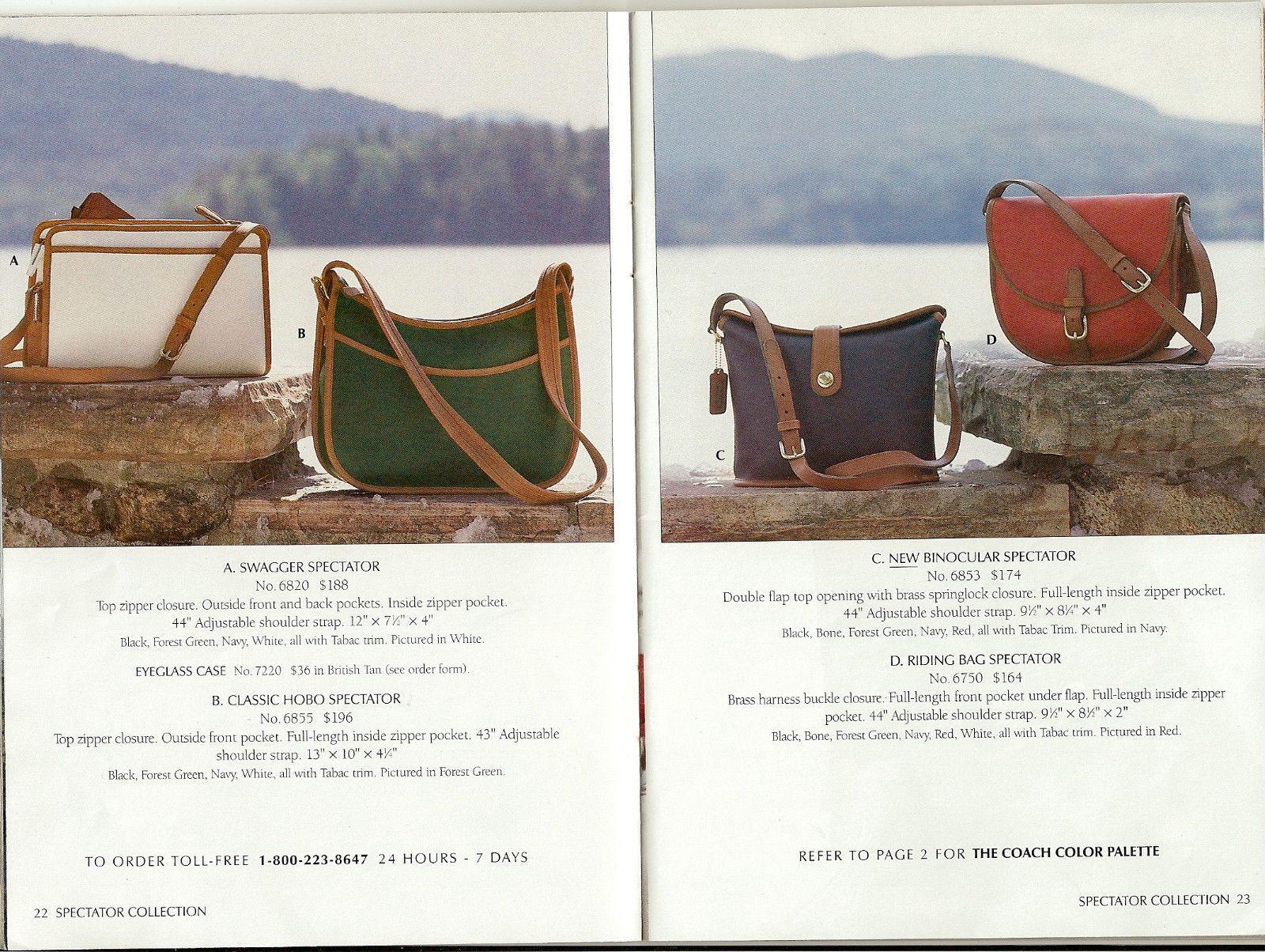 c191ad366c Vintage Coach Bag Catalogs 1981 2002 Scanned to 4GB Bracelet USB Thumb  Drive
