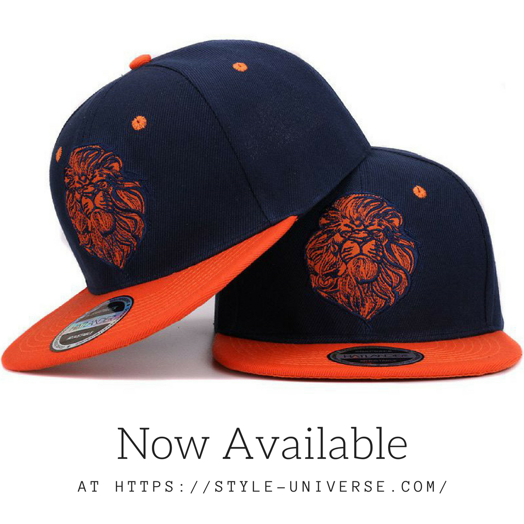 ab0723e9da9 Lion Face Embroidered Snapback Hat. Now Available.  snapback ...