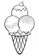 картинки по запросу раскраски сладости распечатать