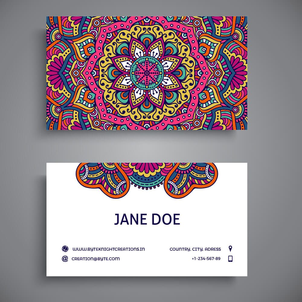 Fancy Visiting Card Vc123 Visiting Card Design Business Card