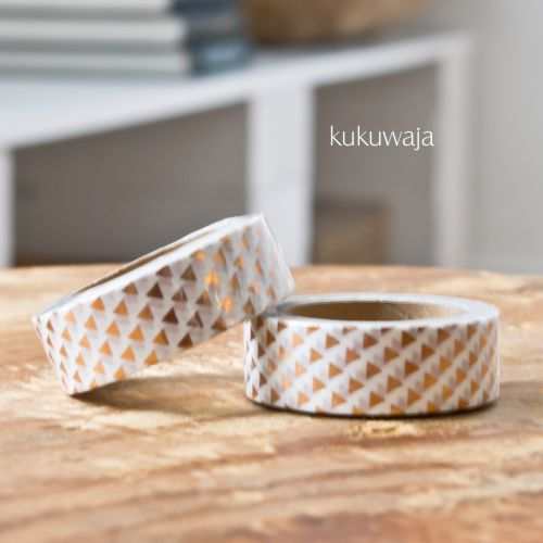 Masking Tape via www.kukuwaja.de #goldfoil #kukuwaja #maskingtape #tape #klebeband #xmas #weihnachten #maskingtapeliebe #decotape #packaging #copper