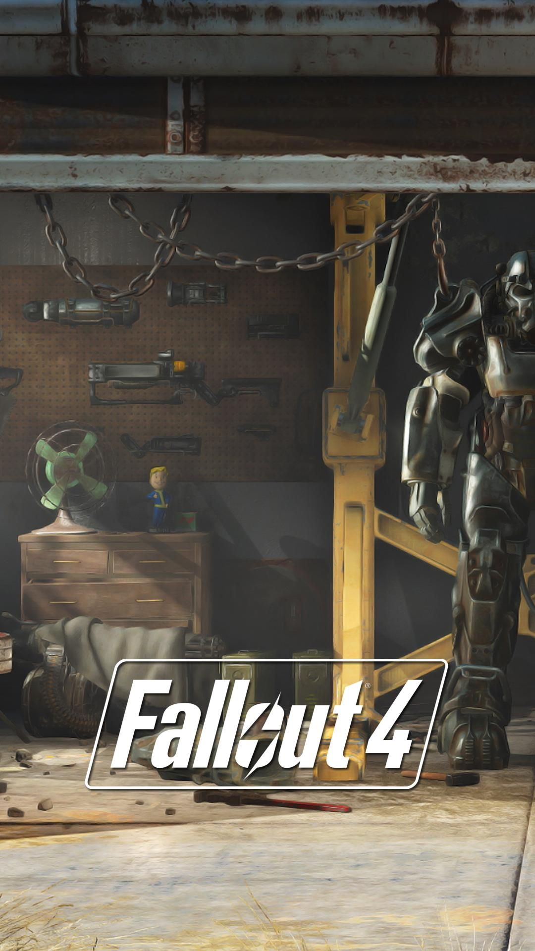 I Made Some Fallout 4 Lock Screen Wallpapers From E3 Stills Geeky