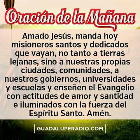 #Oraciondelamañana